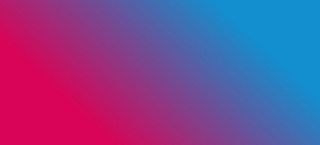 Farbverlauf von Rot nach Blau